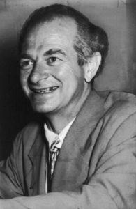 Dr. Linus Pauling (1901 – 1994), amerikanischer Biochemiker und  zweifacher Nobelpreisträger, ist der Begründer der  orthomolekularen Medizin.