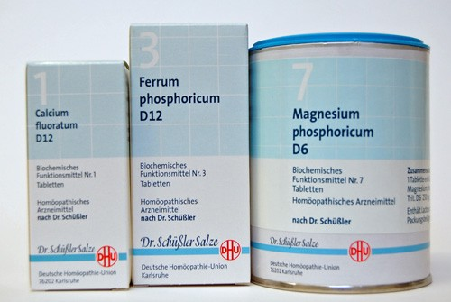 Biochemie Tabletten DHU Nr. 1 – 24 (80 Tabletten)