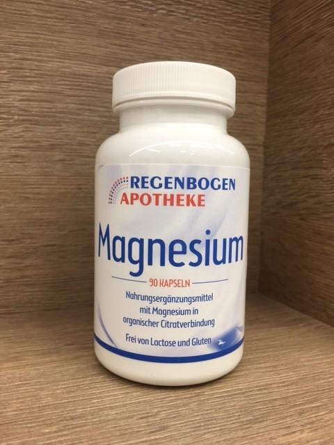 Regenbogen Apotheke Magnesium 90 Kapseln